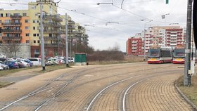 Do smíchovské Nádražní ulice se vrací tramvaje: První vyjedou už v pátek před půlnocí