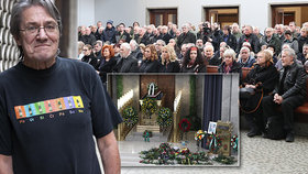 Pohřeb Honzy Vyčítala (†77): Přátelé odmítli mluvit nad rakví, síň pak zavřela hrozba!