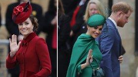 Ostrý kontrast Meghan a Kate: Jedna baží po kamerách, druhá nakupuje v utajení!