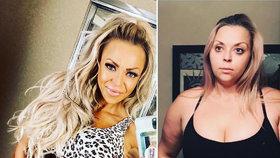 Po čtyřech potratech a porodu dvou synů vážila 110 kilo. Jak dokázala, že zase vypadá skvěle?