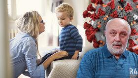 Jak mluvit s dětmi o koronaviru? Pozor, aby nevnímaly jen slova SMRT a PANIKA, radí psychoterapeut
