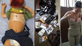 Žena předstírala, že je těhotná, aby do vězení propašovala mobily, peníze a kladivo
