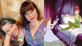 Hrdá maminka Jovovichová: Její dcera zazáří v nové disneyovce!