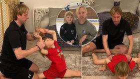 Teror malého baleťáka Pljuščenka: Chlapec u tréninků pláče bolestí!