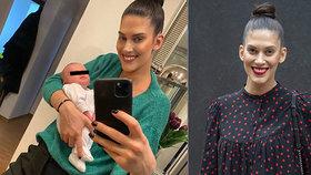 Aneta Vignerová v domácí karanténě: S novorozeným synem v náručí a s úsměvem!