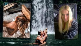 Zlom u missky z děcáku Kašákové: Zrušené zásnuby a pak vášeň pod vodopádem!