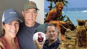 »Trosečník« Hanks v karanténě terčem vtípků! Shledání s Wilsonem?