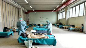 Smutný rekord v Itálii: 250 obětí koronaviru za jediný den