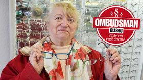 Milada (74) z penze těžce šetřila na nové brýle: Optici »zpackali« hned dvoje a dávají ruce pryč!