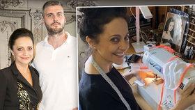 Lucie Bílá se s koronavirem vrátila k původní profesi! Neuvěříte, z čeho šije roušky