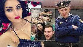 Skandál u policie: Krasavice s přítelem si vyfotili morbidní selfie s mrtvolami