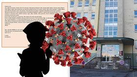 Koronavirus ve Frýdku-Místku: Nakažená sestřička promluvila!