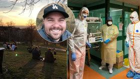 Na koronavirus zemřel i muž (†34). Infektolog radí mladým: Nedělejte hrdiny