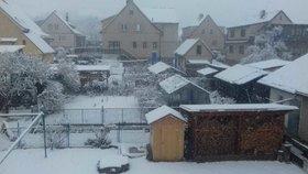 Česko zasáhly mráz a sníh, bylo až -13 °C. Pozor na ledovku a sledujte radar Blesku