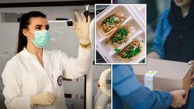 Oběd za stovku pro lékaře, seniory, bezdomovce: Lidé jídlem pomáhají druhým při boji s koronavirem