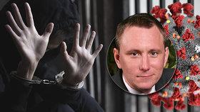 Za úmyslné nakažení do vězení, problémy hrozí i za porušení karantény, varuje advokát