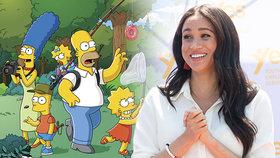 Homer, Marge a Meghan? Tvůrci Simpsonových nabídli vévodkyni práci snů!