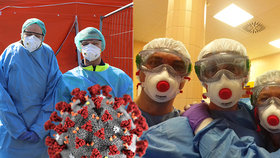 Medici riskují v první linii, koronaviru se nebojí i přes nedostatek roušek