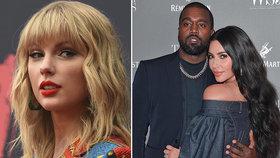 Taylor Swiftová a Kim Kardashianová opět ve válce: Jsi lhářka! křičí na sebe