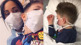 """""""Maminko, já umřu?"""" hlesl chlapeček s koronavirem: Vyděšená žena varovala před podceněním nákazy!"""