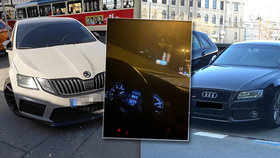 Zlatá mládež jezdí po Praze 240 km/h a driftuje na Staroměstském náměstí: Měli by jim vyšetřit hlavu, soudí dopravní expert