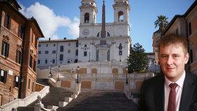 Petříček chce v boji s koronavirem pomoci Italům a Španělům. Umírají jich tisíce