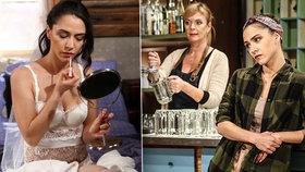 Eva Burešová ze Slunečné jako svůdná nevěsta: Sexy prádýlko si koupila na doma!
