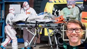 """""""Zemřeli před očima."""" Jozef (40) popsal hrůzu z jednotky intenzivní péče"""