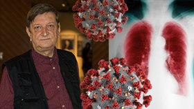 Jiří (70) má nemocné plíce a velký strach z koronaviru! Následky mohou být fatální, přiznala lékařka