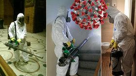 Čističi ničící koronavirus! Adam ukázal, jak se dezinfikují úřady, firmy i domy obyčejných lidí