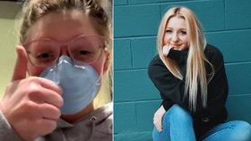 Životní lekce pro mladou dívku: Zlehčovala koronavirus, teď je sama nakažená!