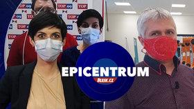 Koronavirus v Epicentru: Opoziční kritika vlády, nové ochranné masky i úpadek hotelů