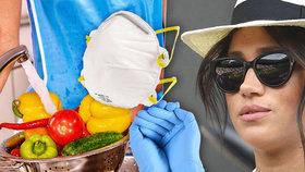 Diktátorská Meghan přitvrzuje: Mytí jídla mýdlem a speciální místnost v domě!