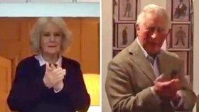 Prince Charlese s Camillou rozdělil koronavirus! Společně ale vzdali hold lékařům