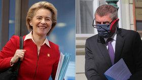 """Babiš se kvůli koronaviru pustil do EU: """"Nedají nám ani o korunu navíc."""" Komise se brání"""