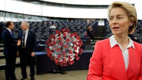 Šéfka Evropské unie chce rychle otevřít hranice. I když ví, že je koronavirus hrozba