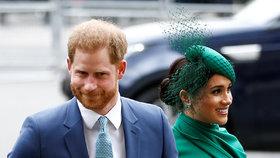 Teď už na ně královna nemůže! Meghan a Harry mají nový plán, jak vydělávat