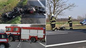 Černý víkend pro motorkáře: Na českých silnicích přišli o 3 kamarády!
