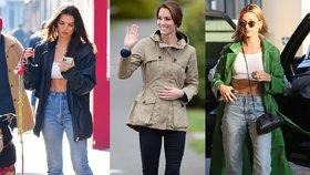Tenisky, které vypadají skvěle k džínám: Tyhle kombinace nosí slavné ženy!