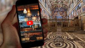 Jak se zabavit v karanténě, vymysleli na Letné: Projekt nabízí návštěvu baru nebo prohlídku Louvru