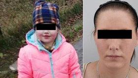 Mladá máma i s dcerkou (4) jsou v pořádku: Policie je vypátrala u kamarádů