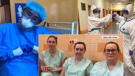 Šichta sestřiček z ARO: Je to masakr! Pečují o šest infikovaných koronavirem na plicní ventilaci
