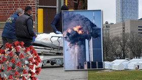 Koronavirus zabil v USA víc lidí než teroristé 11. září 2001. A bude hůř, varují experti