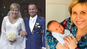Mračková Vildumetzová přiznala problémy s kojením a chystá křtiny. Střílela i do vlastních řad