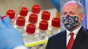 Vakcína nejdřív příští rok. Česko si první dodávky neobjednalo, přiznal Prymula