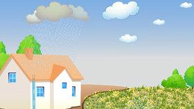 Jak využívat dešťovou vodu? Můžete s  ní zalévat, splachovat i prát!