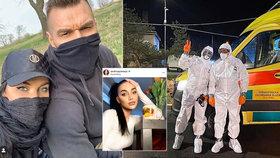 Nemocná Andrea Pomeje: Strach o tátu, který bojuje s koronavirem!