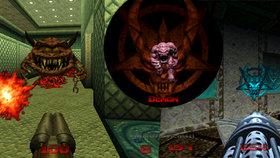 Masakr s vyhřezlými střevy a vytrhanými očními bulvami ze staré školy! Recenze Doom 64