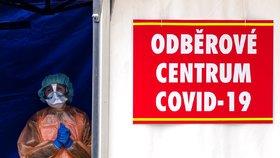 Pražská opatření kvůli koronaviru: Nové testovací místo jen pro řidiče a termokamery na úřadech