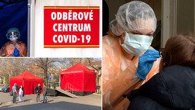 Kde se v Praze testovat na koronavirus? Připravená jsou 4 odběrová místa